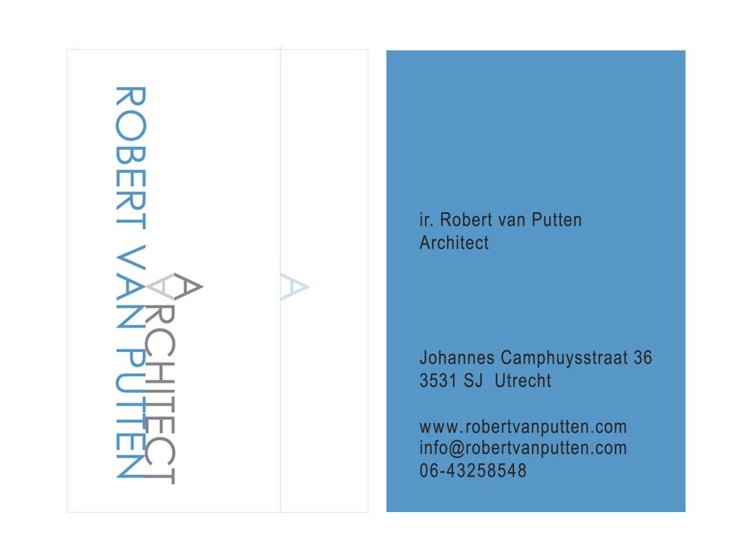 Visitekaartje Architect