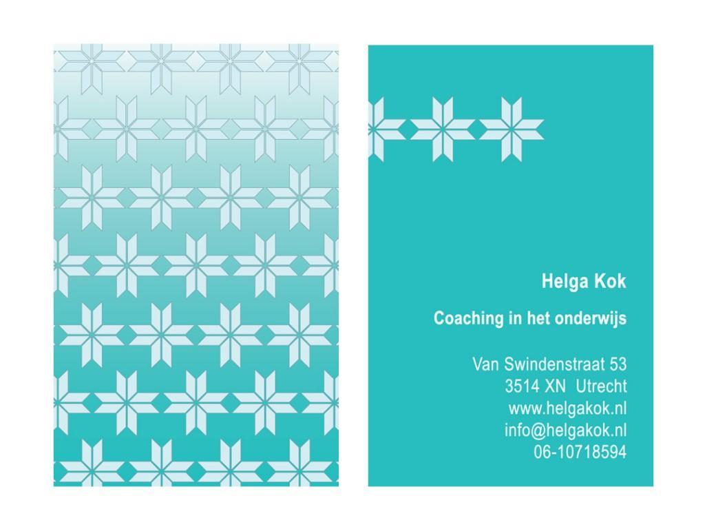 Visitekaartje Helga Kok