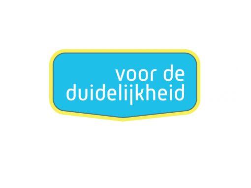 Logo Voor de Duidelijkheid